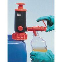 PumpMaster container pump for non-aggressive liquids
