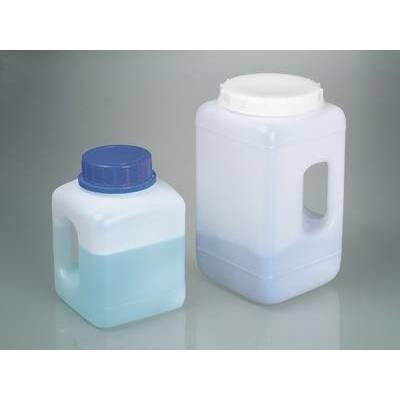 Wide-mouth containers with handle