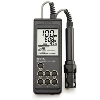 HI 9147 Oldottoxigén-mérőműszer (DO-mérő)